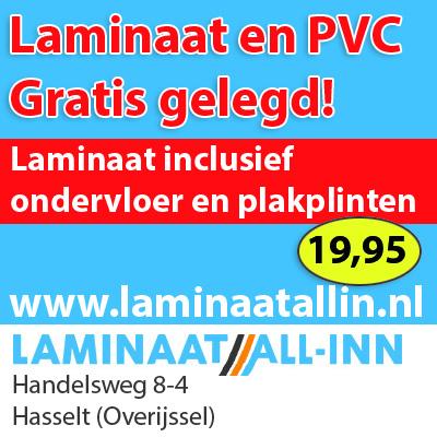 Laminaat actie. Laminaat inclusief gratis leggen, alufoam ondervloer en plakplinten Nu € 19,95 All-In Wij leggen door heel Nederland. Vraag gratis offerte en stalen aan.